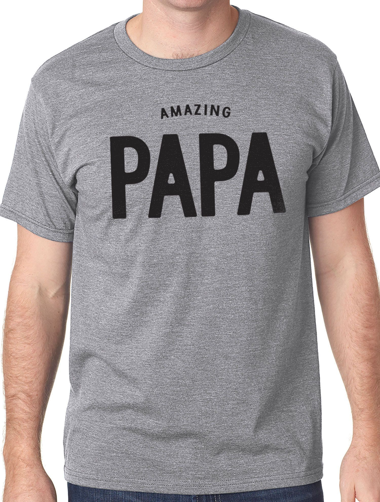 9d61123f Excited to share the latest addition to my #etsy shop: Amazing Papa Shirt  Dad