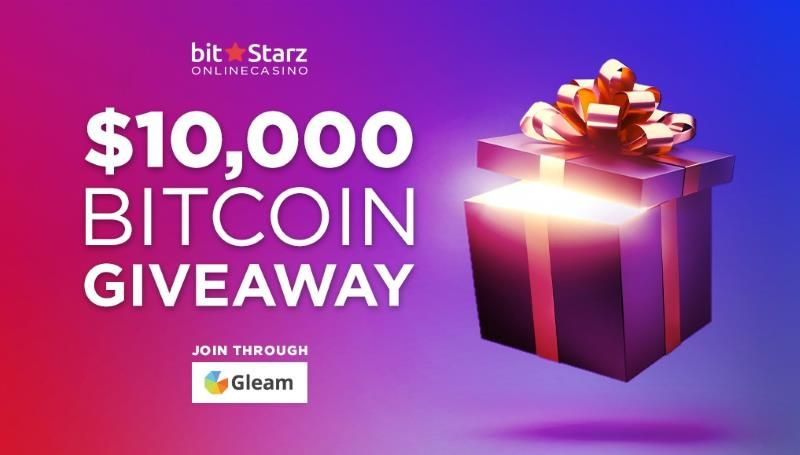 BitStarz has a bitcoin giveaway were you can win a share of $10,000 in…