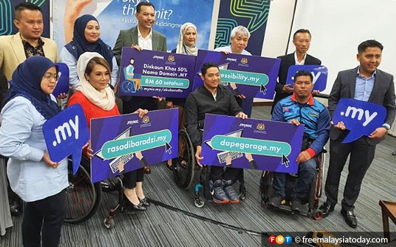 Disabled communities eager to join malaysias digital
