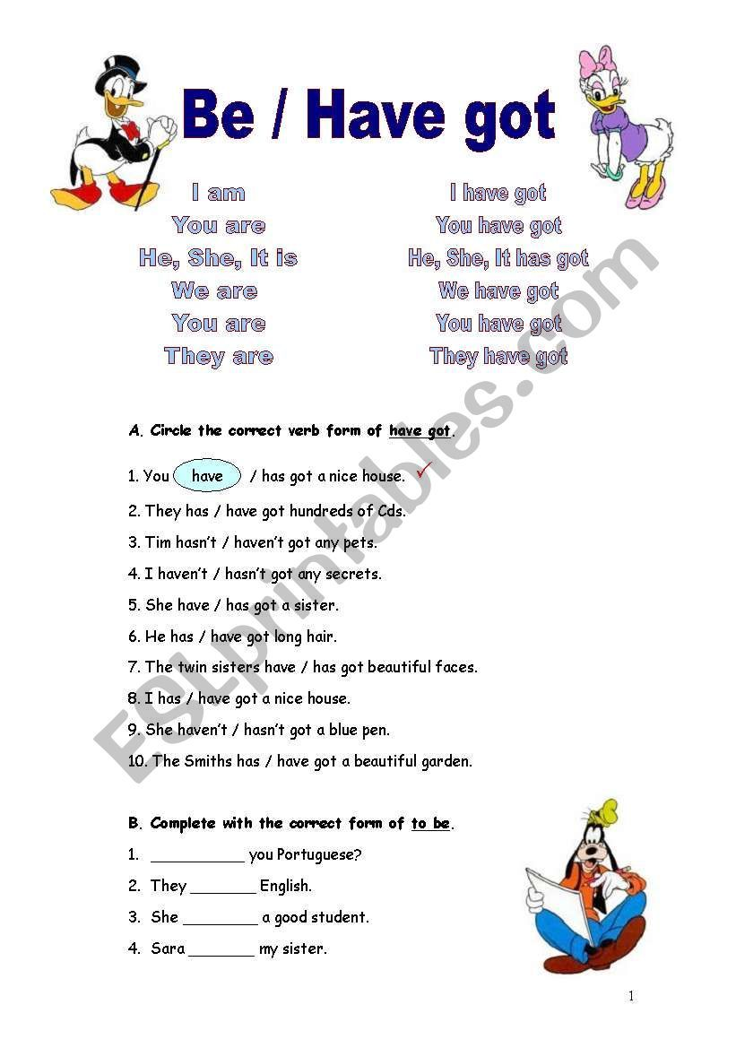 Verb To Be And Have Got Texts With Questions And Exercises 3 Pages Verb To Have Grammar Worksheets Verb Forms [ 1169 x 821 Pixel ]