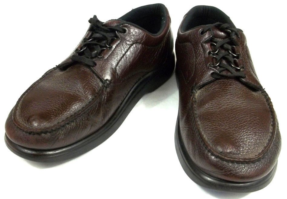 4756504e0e53 SAS Oxfords Mens Size 13.5 N Narrow Solid Brown Leather Shoes  SAS  Oxfords