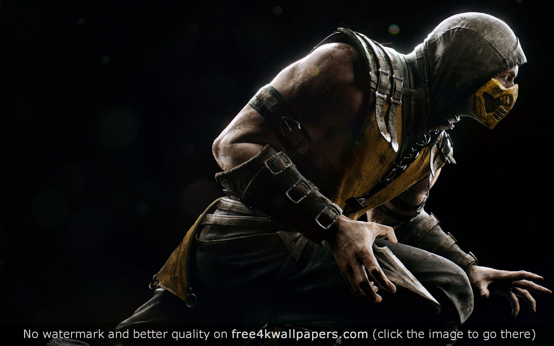 Scorpio Mortal Kombat Hd Wallpaper Mortal Kombat X Scorpion Mortal Kombat Mortal Kombat X Scorpion