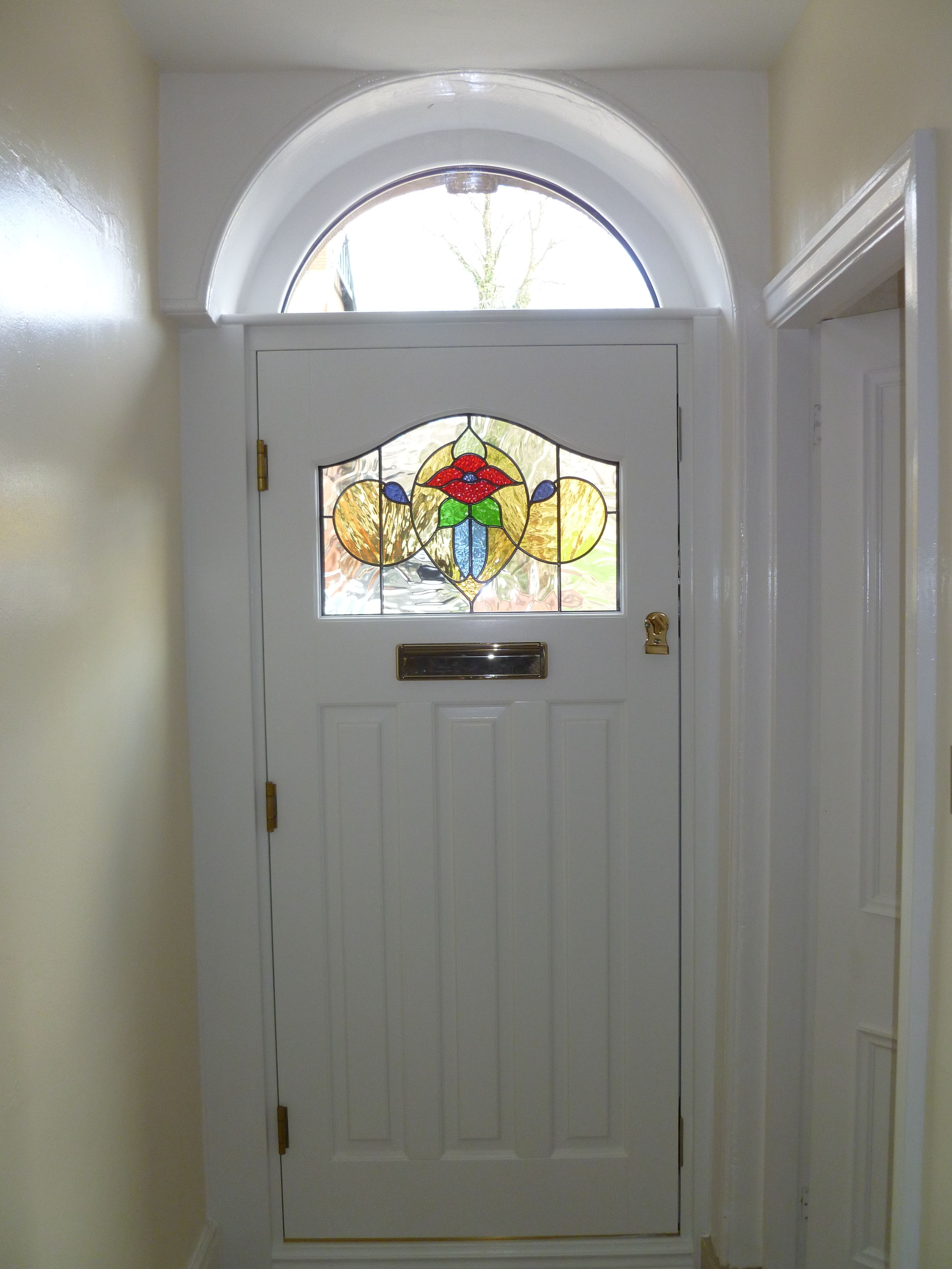 Stained Glass Windows In Cheshire Manchester In 2020 Stained Glass Door Stained Glass Home Improvement Companies