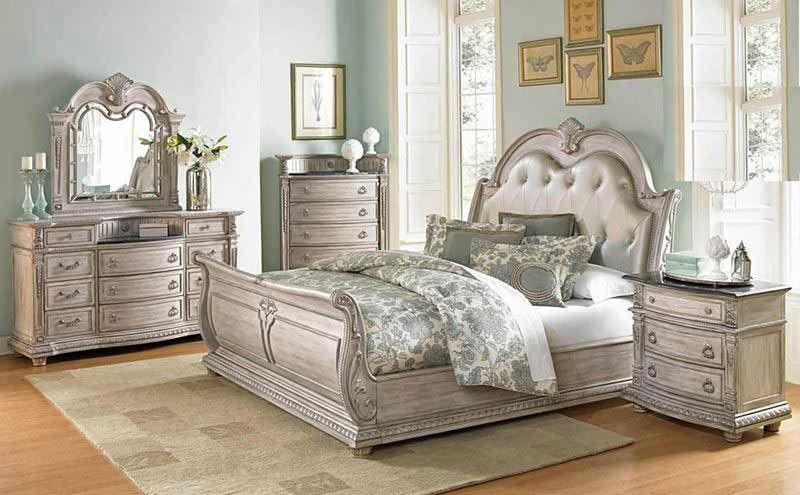 Homelegance Palace Ii 5 Piece California King Bedroom Set 1394kn