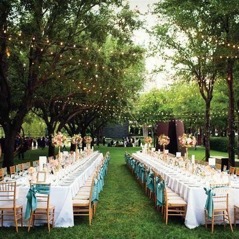 Garden Banquet Seating Wedding Backyard Reception Vintage Garden Wedding Banquet Seating