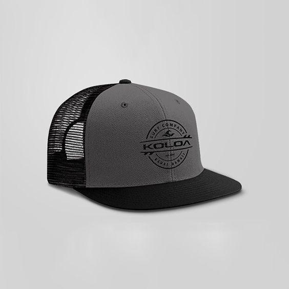 7eab81100ff7c Koloa Surf – Thruster Surfboard Logo Mesh Back Trucker Hats in 12 Colors