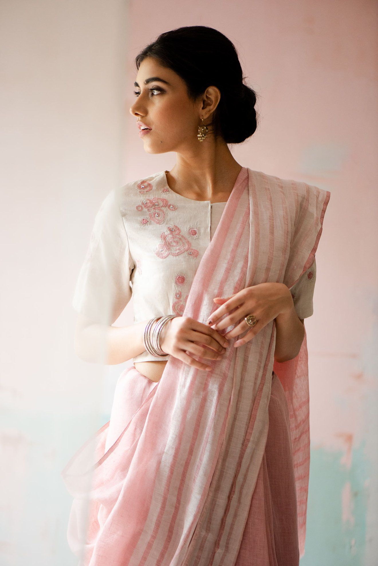 Pin On Grace In A Saree