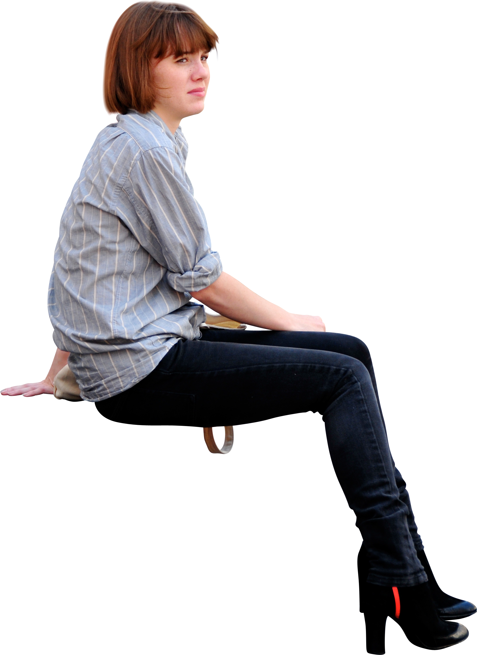 People Sitting Cutouts Png Google Search
