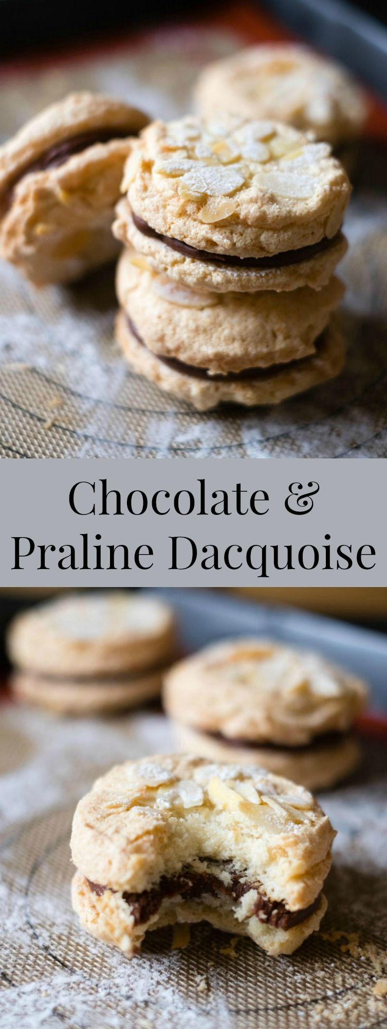 Chocolate & Praline Dacquoise