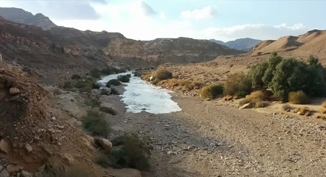 Image result for images of a dried up jordan river