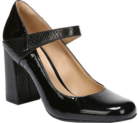 ae91a71855 Women's Naturalizer Reva Mary Jane - Black/Foggy Snake Print Patent Leather  with FREE Shipping & Exchanges. The Naturalizer Reva Mary Jane is a ...