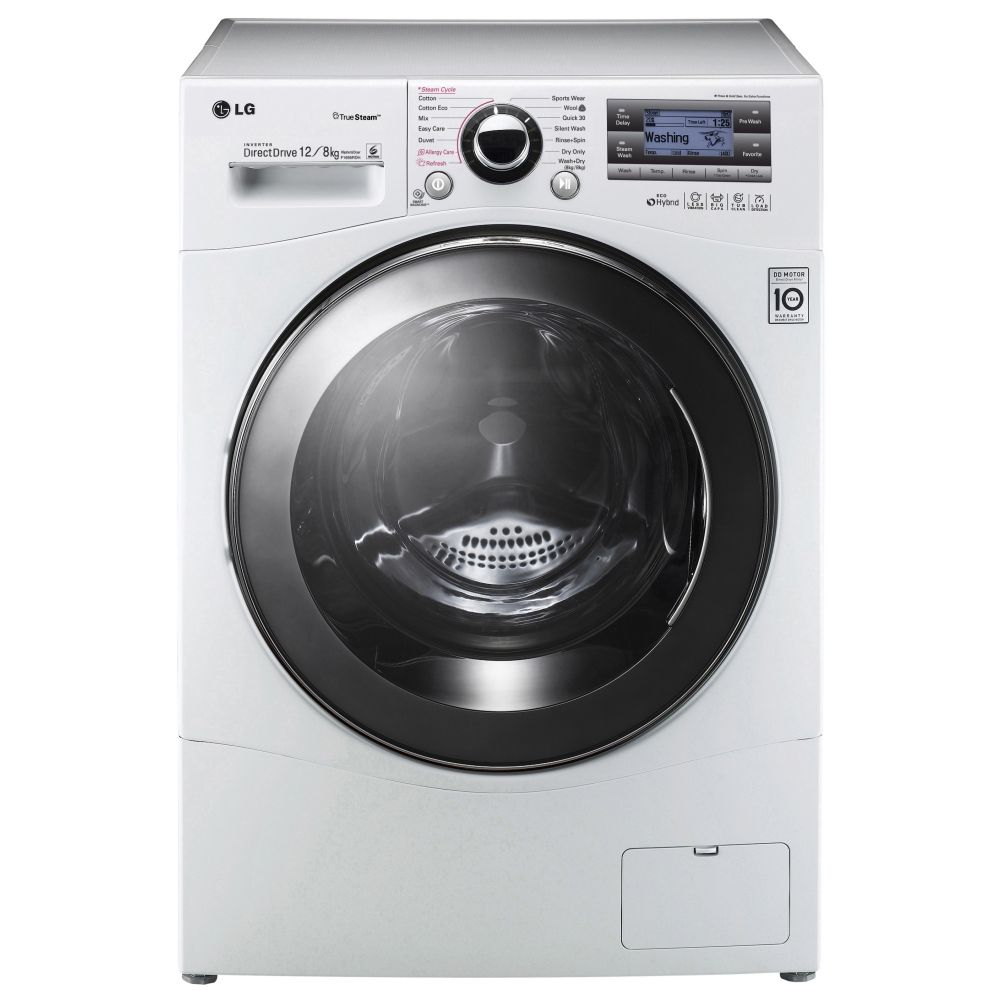 Machine A Laver Lg Lg F1695rdh 12kg Steam Washer Dryer стиралка Tumble Dryers