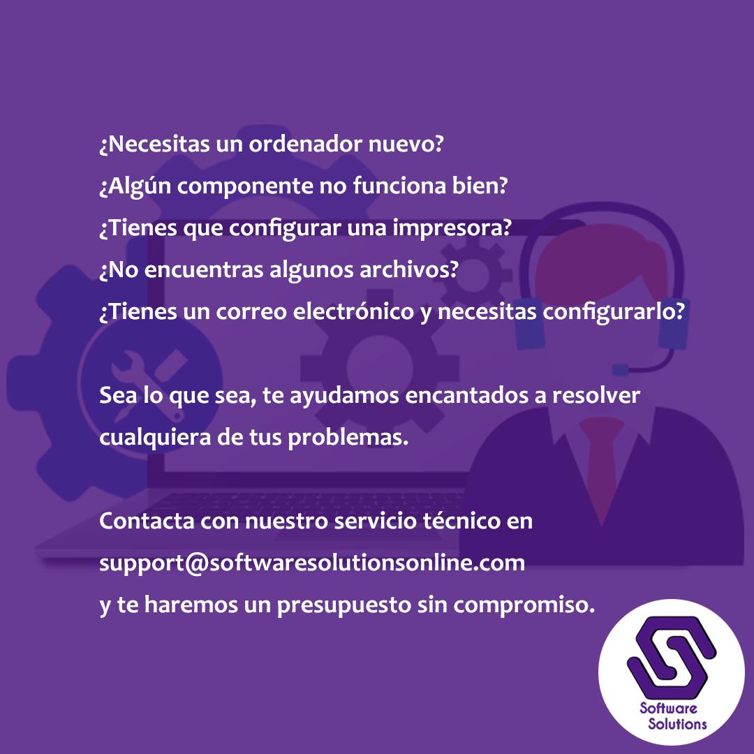 📧💻😊 Contacta con support@softwaresolutionsonline.com #work ...