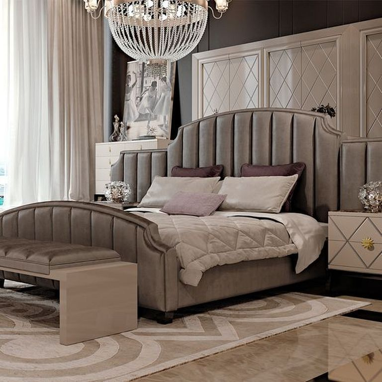 30 Gorgeous Luxury Art Deco Bedroom Design Ideas that is ...