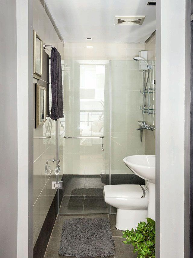 A Bachelor S 40sqm Loft Type Condo With Images Condo Interior Condominium Interior Studio Condo Design