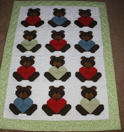Teddy Bear Quilt Kids Quilts Pinterest Teddy Bear Bears And
