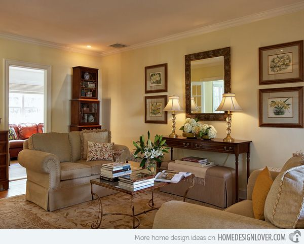 Merveilleux 15 Sophisticated Formal Living Room Designs