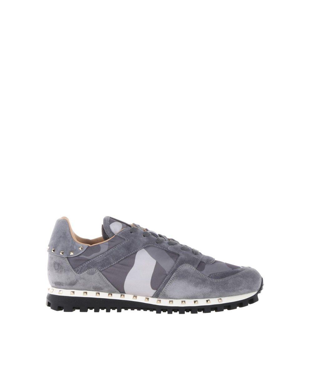 899e846827c0 VALENTINO Valentino Garavani Men S Grey Suede Sneakers .  valentino  shoes   sneakers