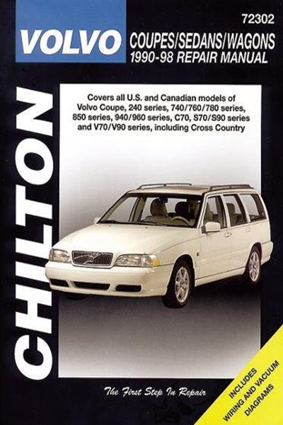 Volvo Coupes Sedans And Wagons 1990 98 Haynes Repair Manuals By Chilton Cengage Learning Volvo Coupe Volvo Mid Size Car