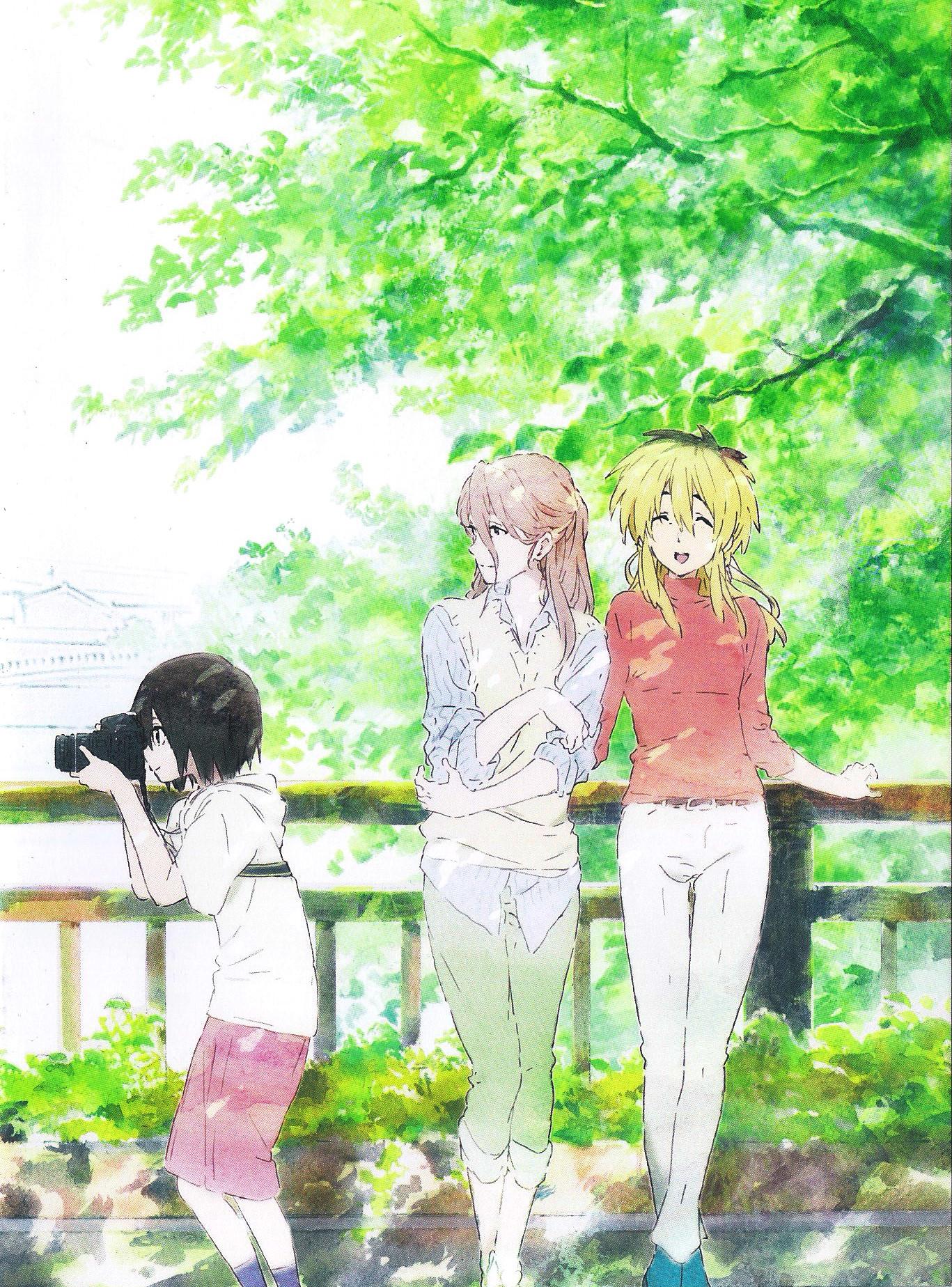 Koe no Katachi (A Silent Voice) Anime films, Anime art