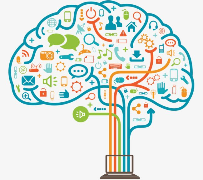 Brain Science And Technology Brain Clipart Science Clipart Technology Clipart Png And Vector With Transparent Background For Free Download Computational Thinking Science Clipart Graphic Organizers