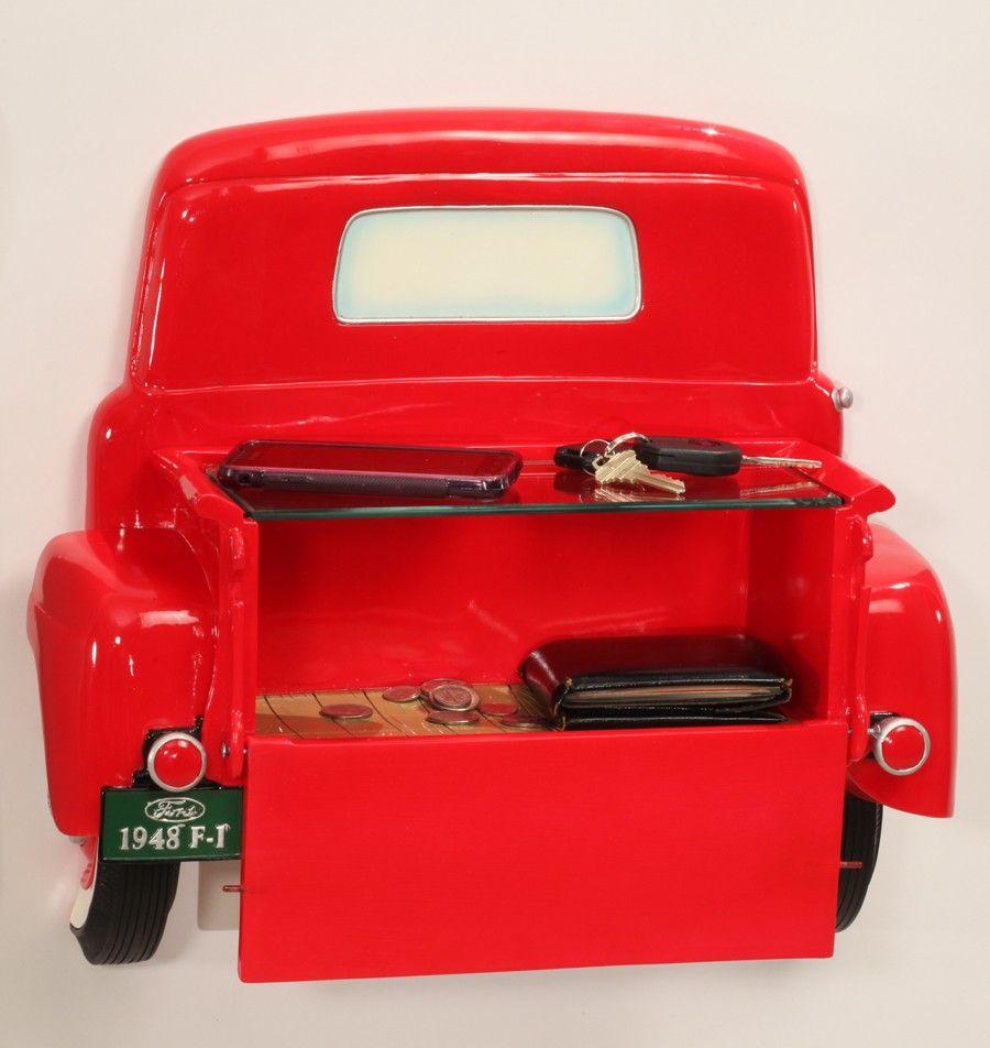 1948 ford truck wall shelf car themed stuff pinterest for Garage ford denney 90