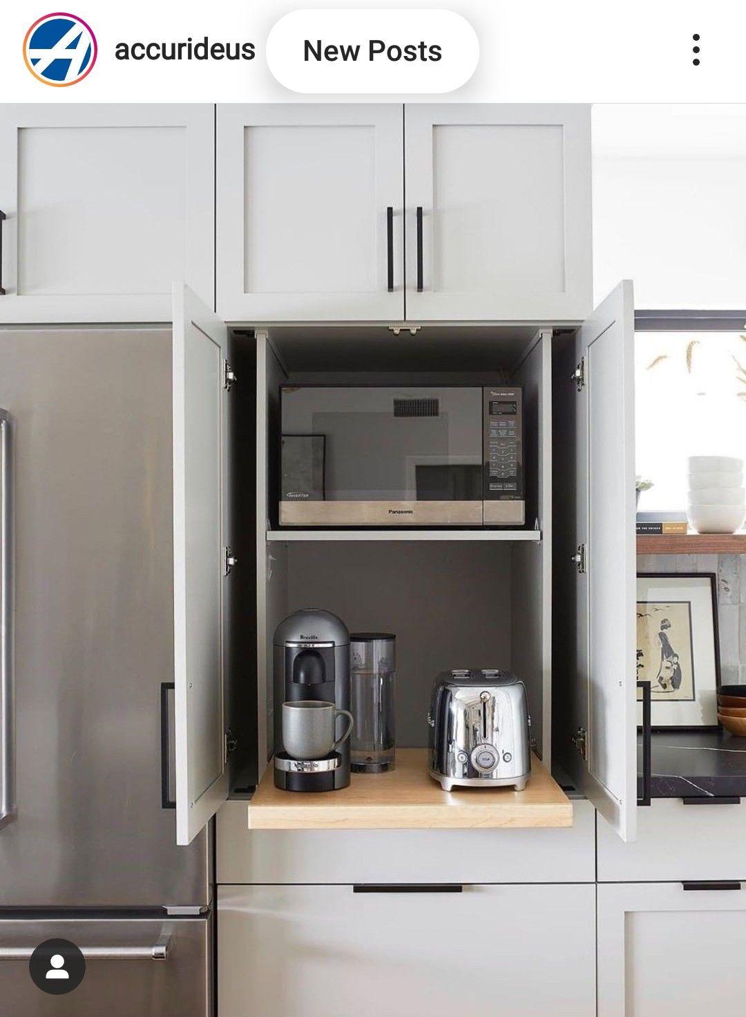 Pin By Gram On Einrichtung In 2020 Kitchen Appliance Garage Kitchen Storage Solutions Appliance Garage
