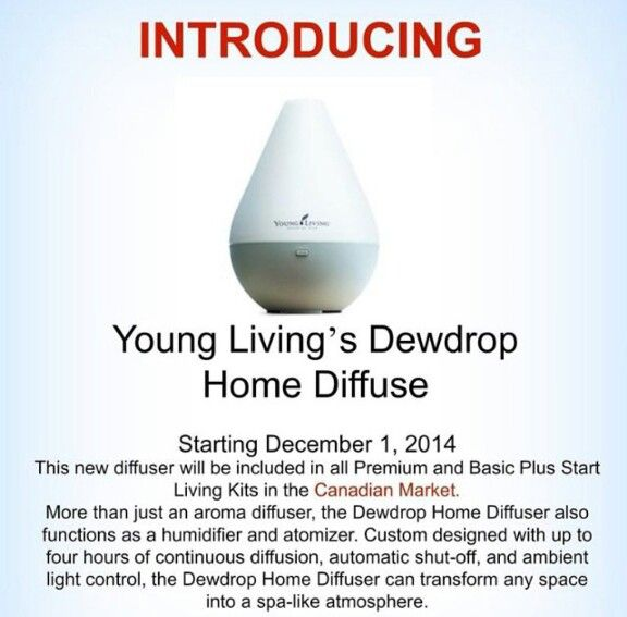 Dewdrop Diffuser Young Living Diffuser Pinterest Young Living