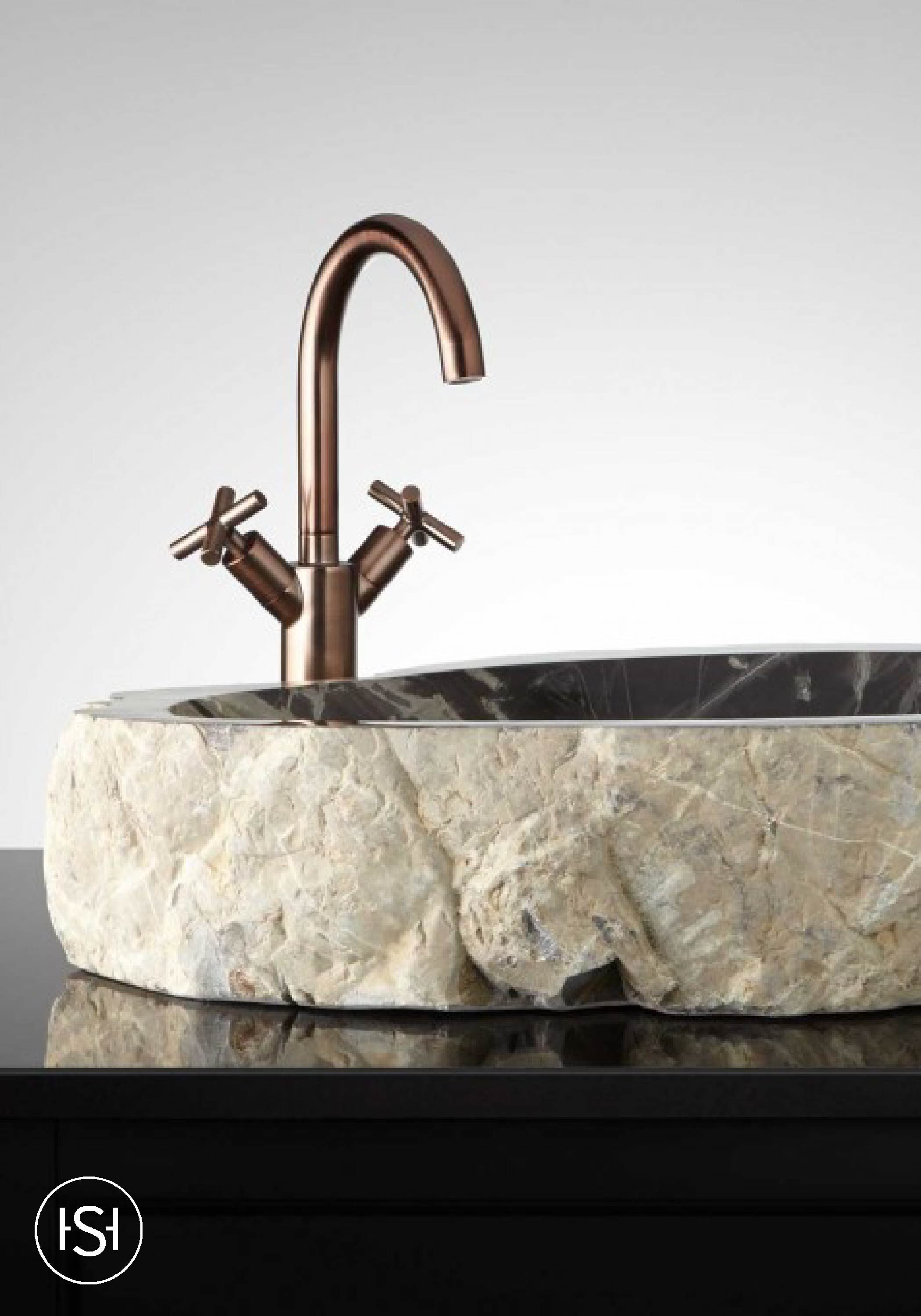 This Natural Stone Vessel Sink from Signature Hardware Is A