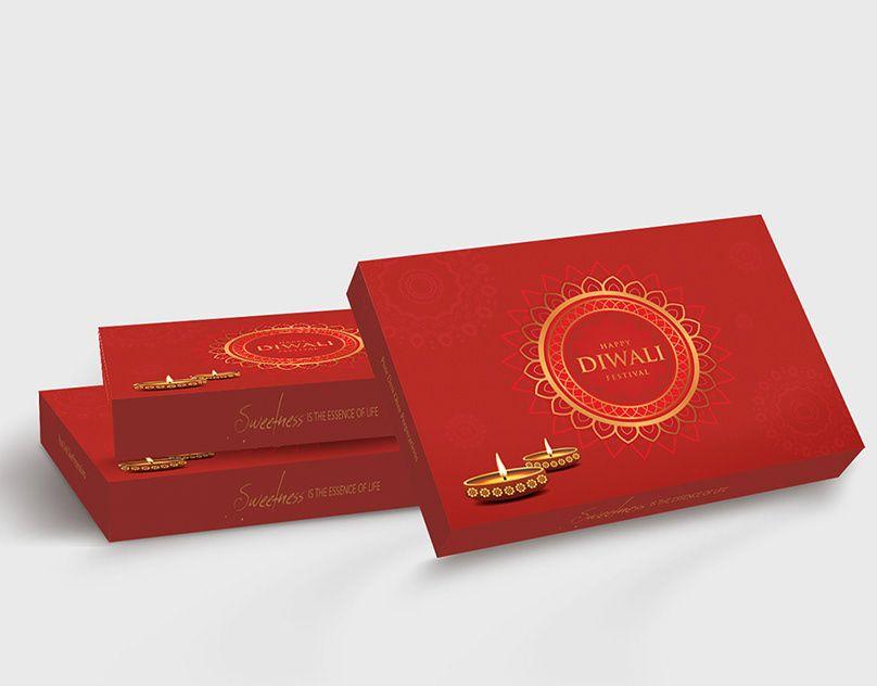 Haldiram packaging design sweet box traditional india on
