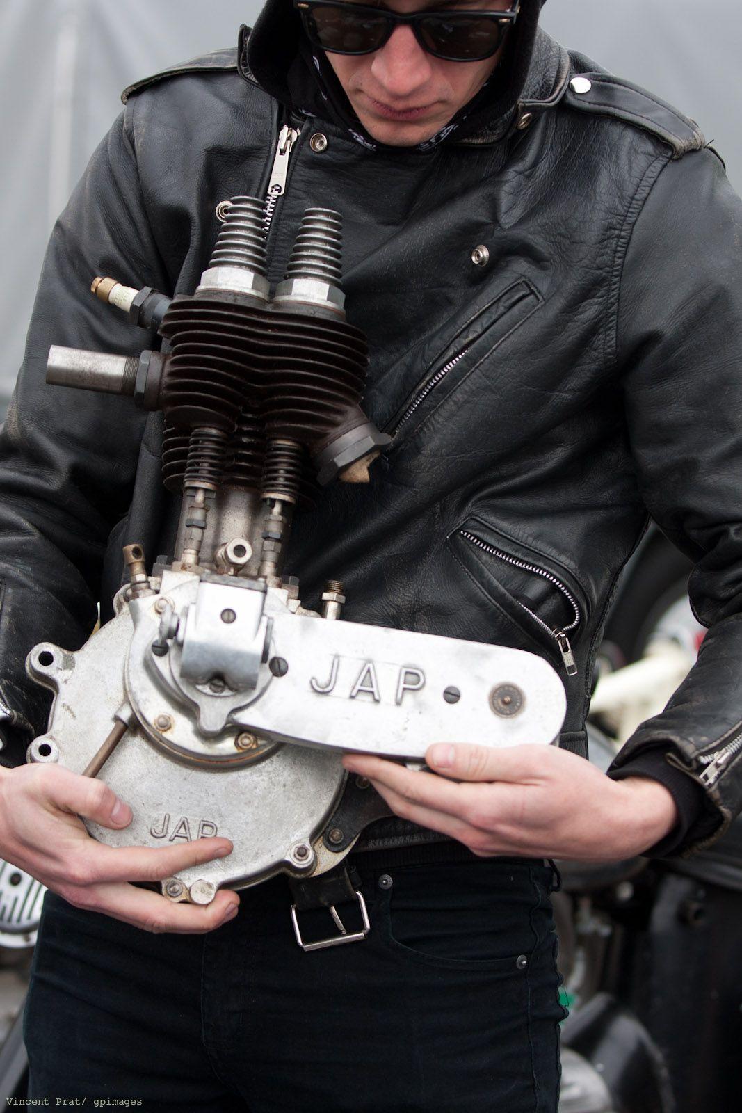 """O"" and the Jap engine - MAr 2012 http://southsiders-mc.tumblr.com/"