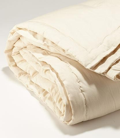 Amenity Home Organic Wool Comforter Organic Bedding Organic Living Organic Wool