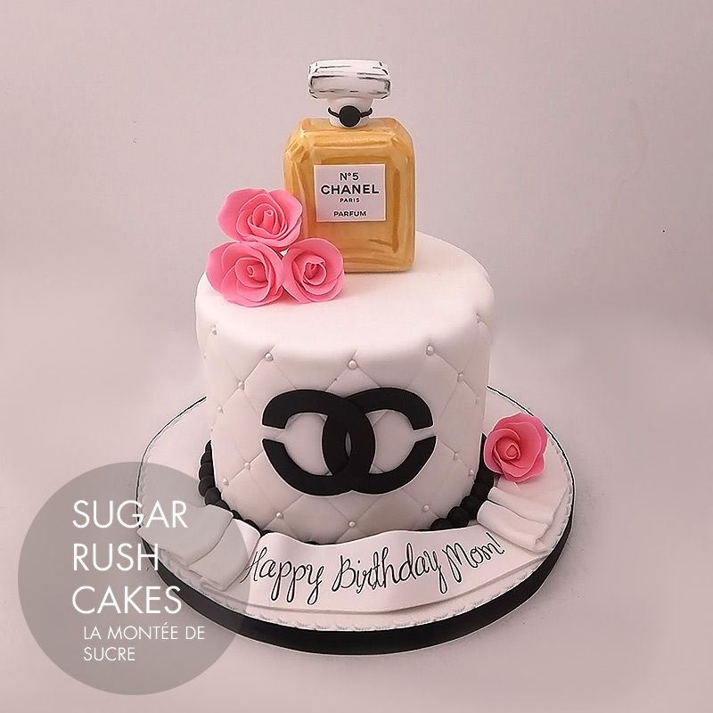 Chanel Perfume Cake Pinterest Cake Chanel Cake And Cake