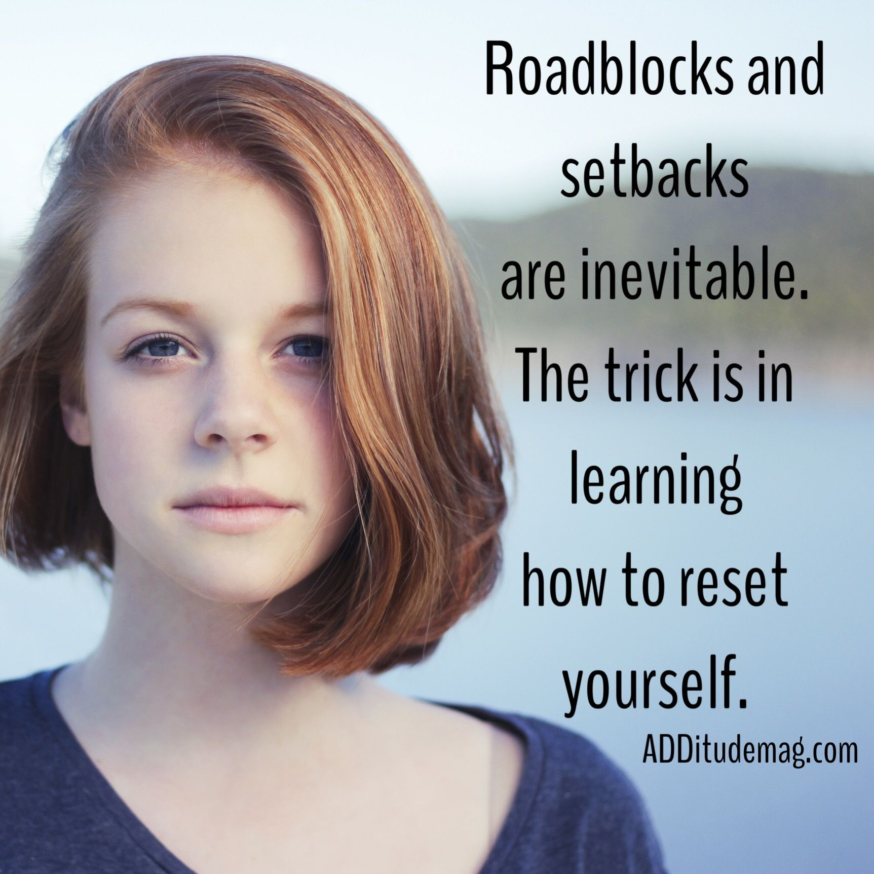 You're going to hit roadblocks and setbacks. That's inevitable. So the trick is in learning how to reset yourself. Use these 6 helpful tools.