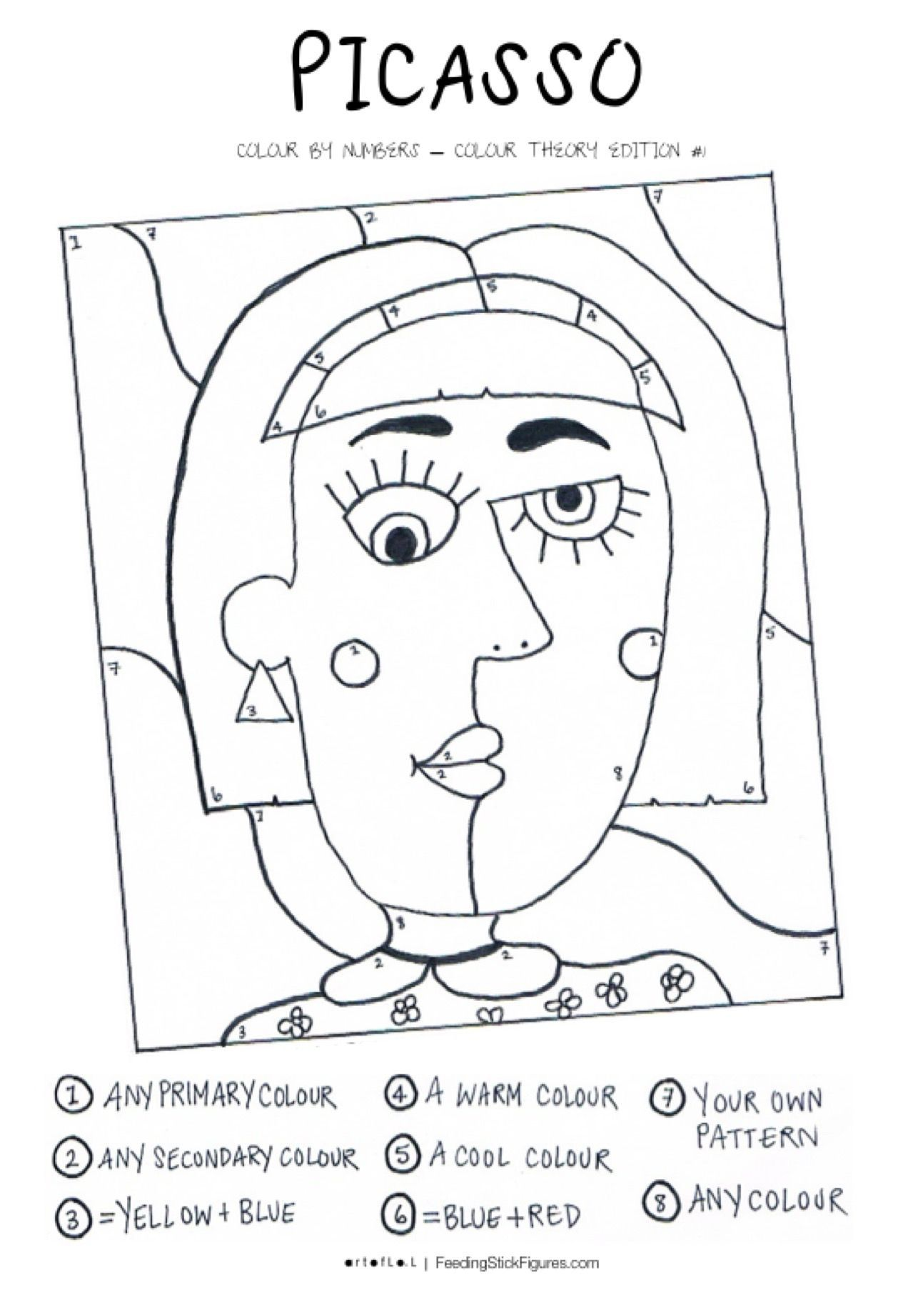 A Fun Colouring Page Activity For Kids To Review The