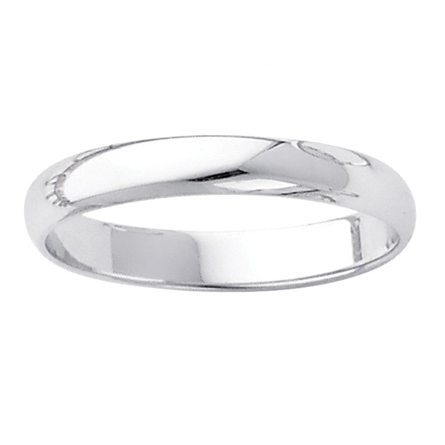 Dainty 10k White Gold Endless Classic Band Dainty 3mm Wedding Ring For Women See This Great Image Wedding Rings Wedding Rings For Women Gold Rings Jewelry
