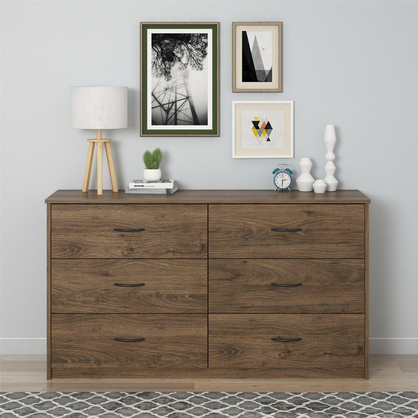 Grantville 6 Drawer Dresser 6 Drawer Dresser Furniture Dresser [ 1400 x 1400 Pixel ]