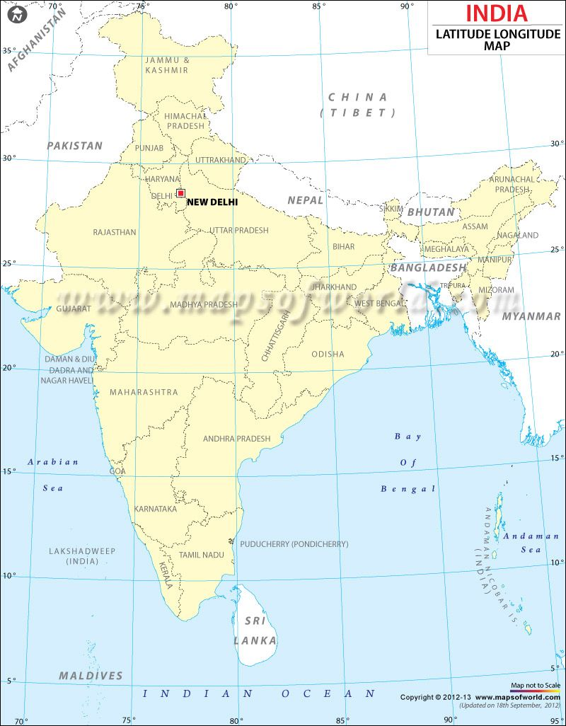 india map with latitude and longitude India Lat Long Map Latitude And Longitude Map Lat Long Map india map with latitude and longitude