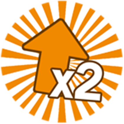 2x Upgrade Points - Get an extra upgrade point every level