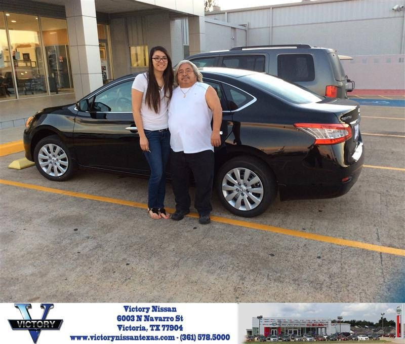 Congratulations Claudio On Your Nissan Sentra From Robert Monsalvo At Victory Nissan Victorious Nissan Congratulations