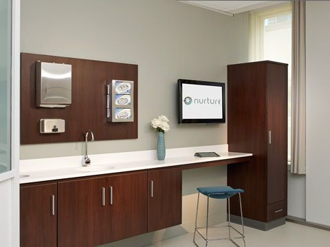 Medical office cabinet / wall-mounted - Folio - Nurture | IC ...