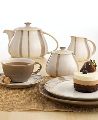 Denby Dinnerware Truffle Collection - Casual Dinnerware - Dining u0026 Entertaining - Macyu0027s  sc 1 st  Pinterest : denby truffle dinnerware - Pezcame.Com