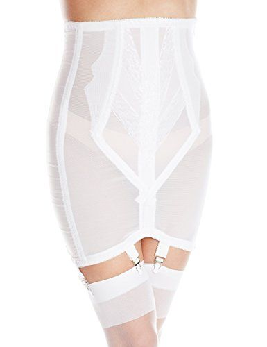 14a27bfdf5023 Rago Women s High Waist Open Bottom Girdle with Zipper at Amazon Women s  Clothing store