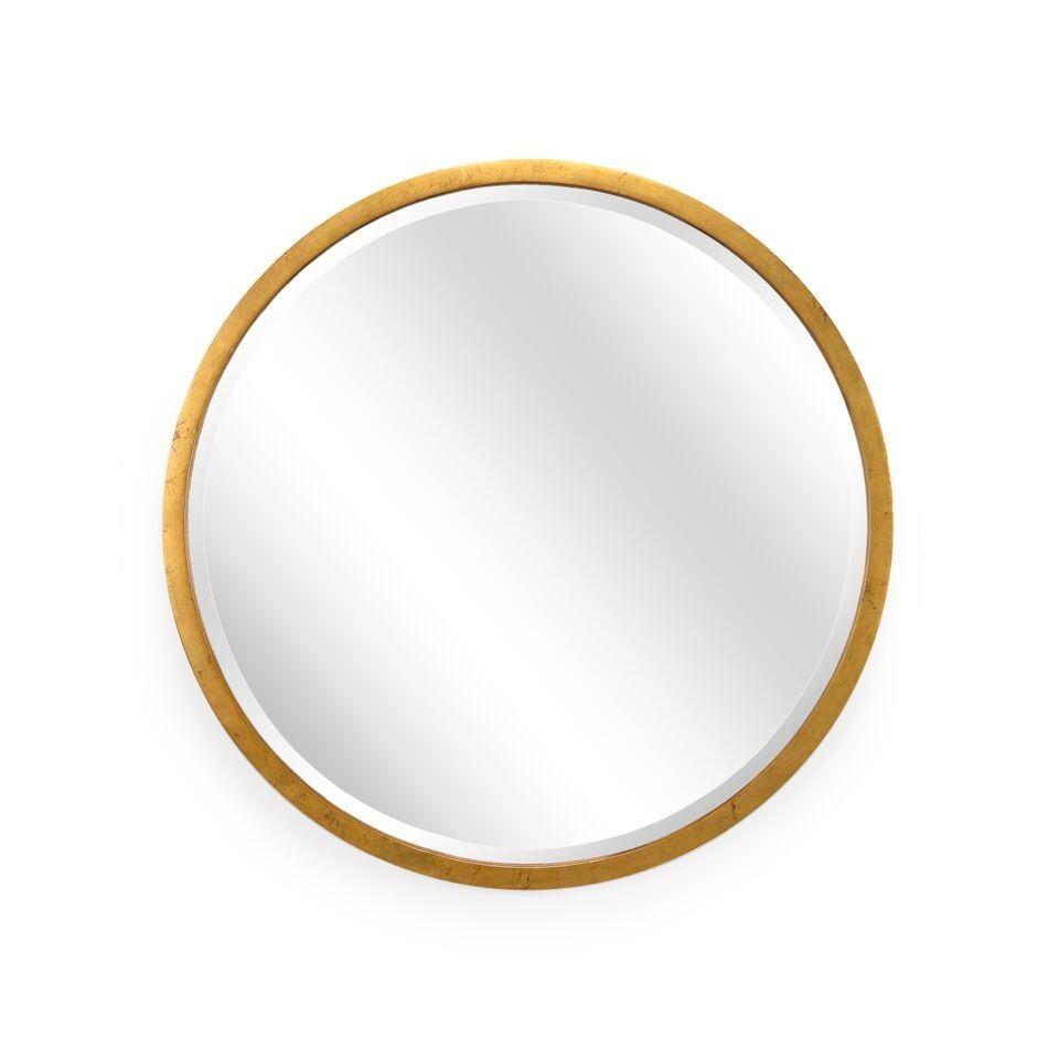 Chelsea Gold Round Mirror Round Gold Mirror Large Round Mirror Gilt Mirror