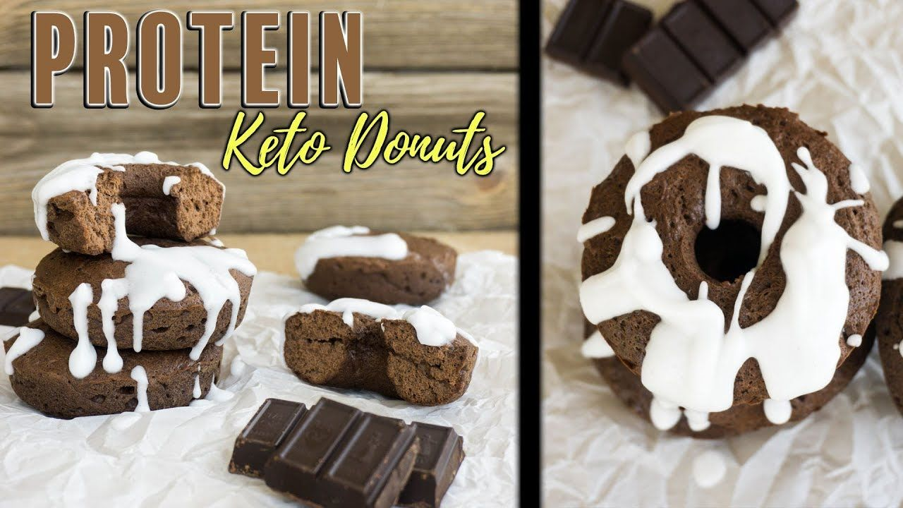 Keto Donuts - Flour-less Chocolate Glazed | Protein Donuts