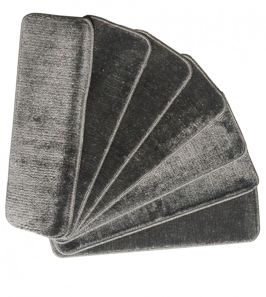 Best Ottomanson Softy Stair Treads Gray Stairs Stair Treads 640 x 480