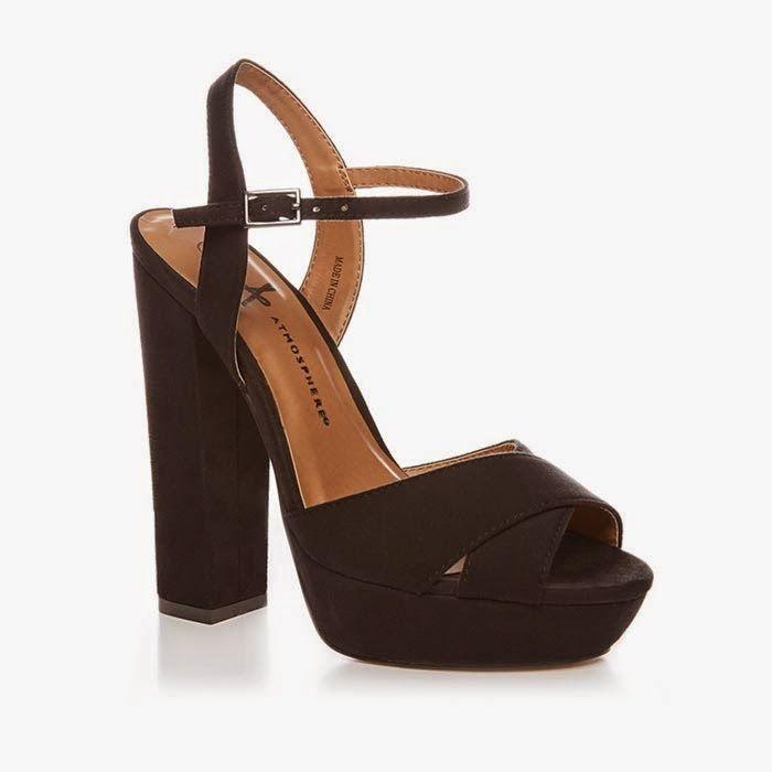 76d74c9c Primark zapatos: sandalias de tacón en negro | Zapatos negros en ...
