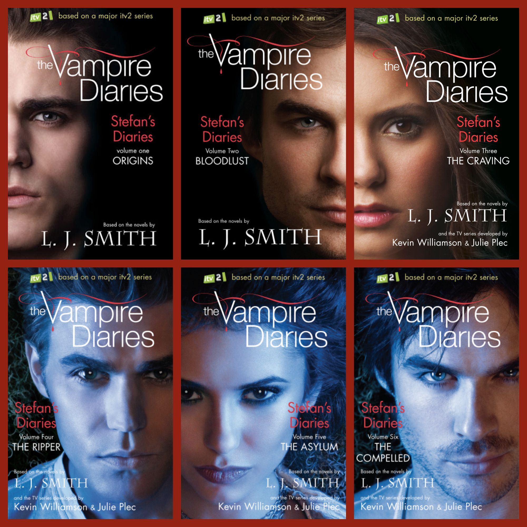 The Vampire Diaries Book Series