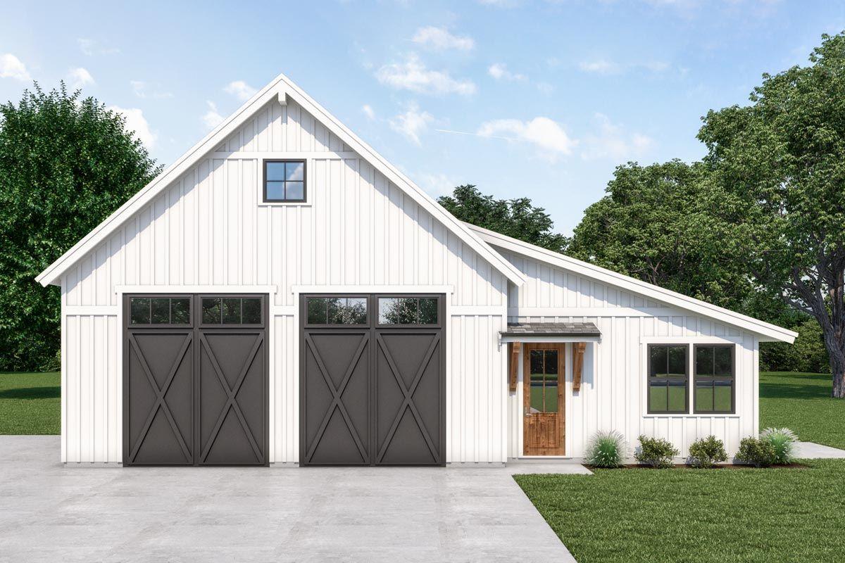 19+ Farmhouse style garage model