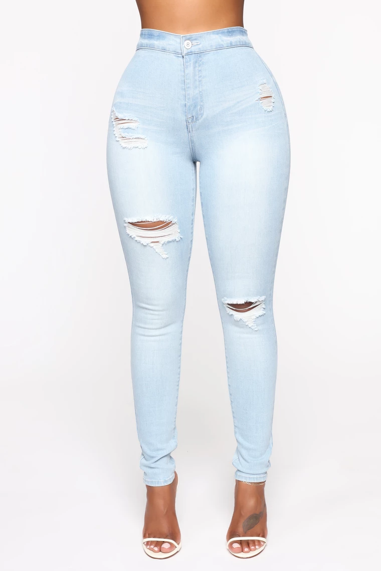 I M Down High Rise Skinny Jeans Light Blue Wash Light Jeans Outfit Cute Ripped Jeans High Rise Skinny Jeans